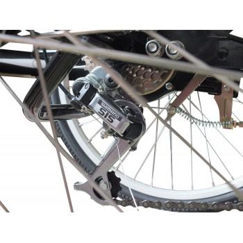 Bicicletta triciclo 6 velocità in alluminio ultra leggera