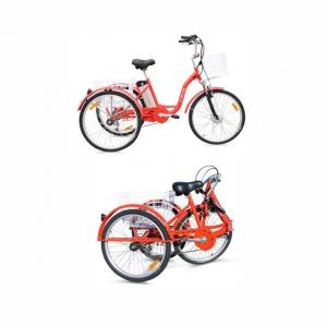 Bicicletta Elettrica tre ruote con pedalata assistita, bicicletta