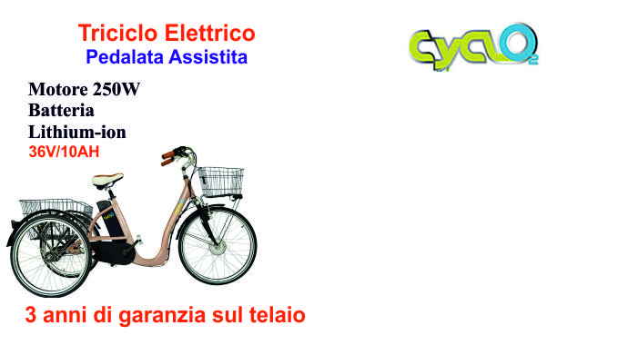 CYCLO2 TricyclesIntegrated i-Lume LED rear lightOptional hood available separatelyBreathability rating 15,000prezzo da partire da: €1990.00